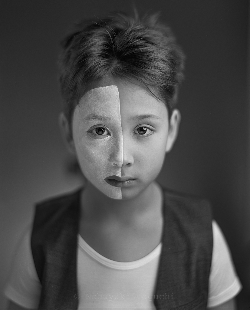 Portrait - Large Format - Face - Vertical Half