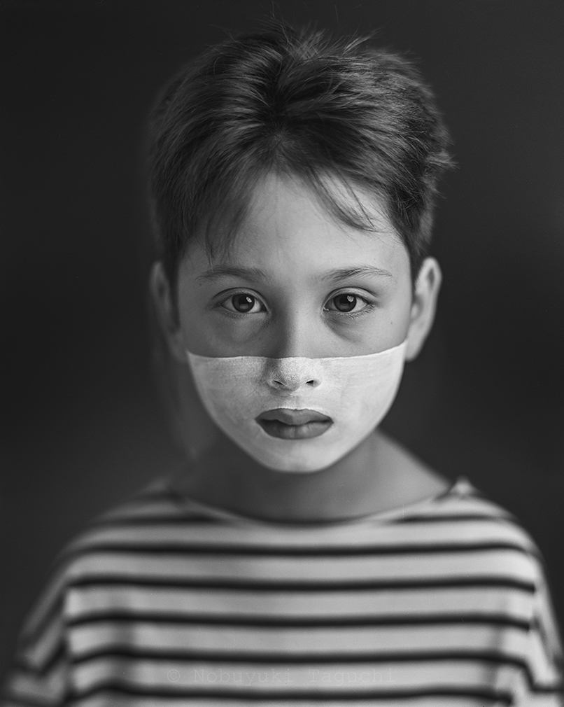 Portrait - Large Format - Face - Horizontal Half