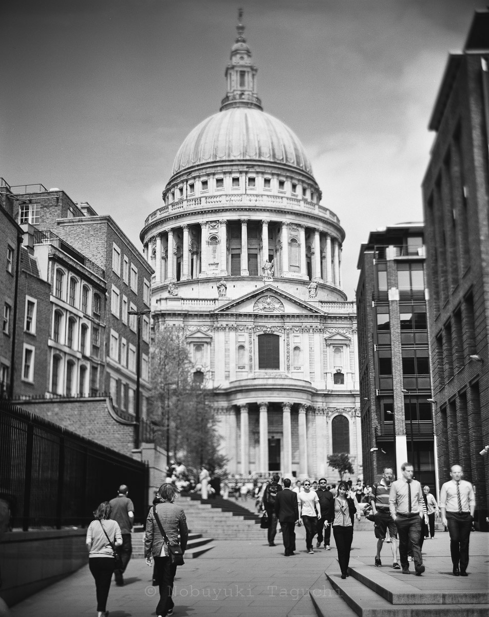 London by 5x4 (4x5) Large Format with Aero Ektar - St Paul's Cathedral
