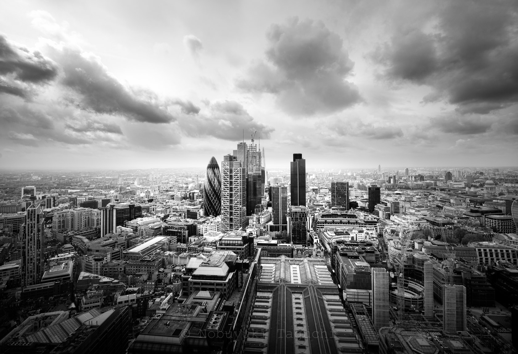 City of London - View from Broadgate Tower