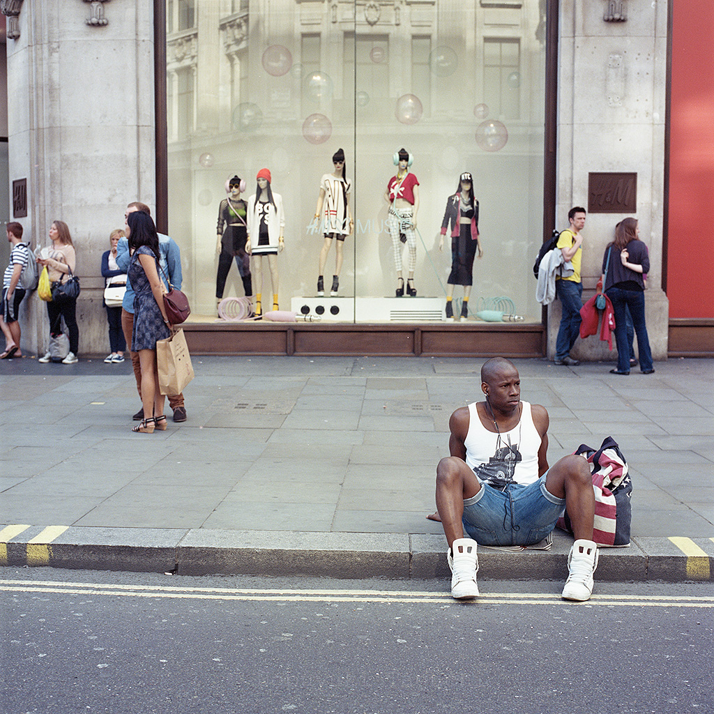 Street Photography Colour - Regent Street, London