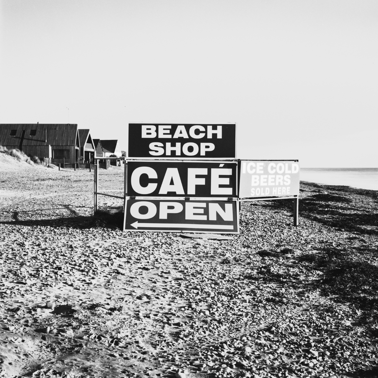 Stillness - Beach Shop Signboard